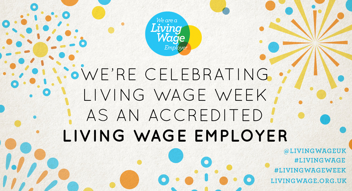 We're celebrating Living Wage Week