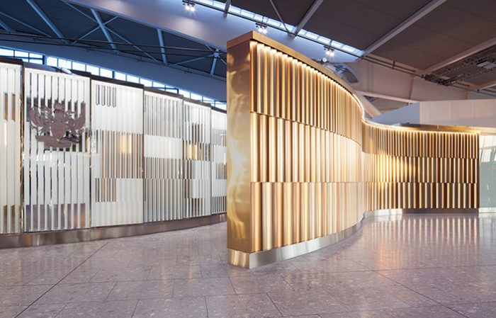 Feature Walls – Heathrow T5