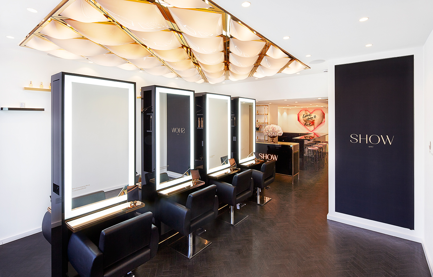Aldworth James & Bond | Luxury Salon interior