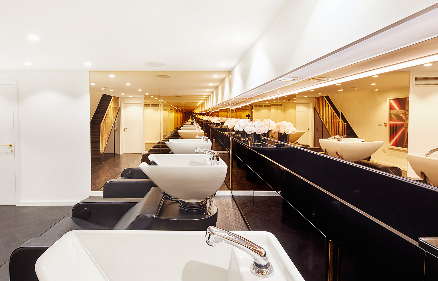 Aldworth James & Bond | Luxury Salon - architectural design by AJ&B Studio