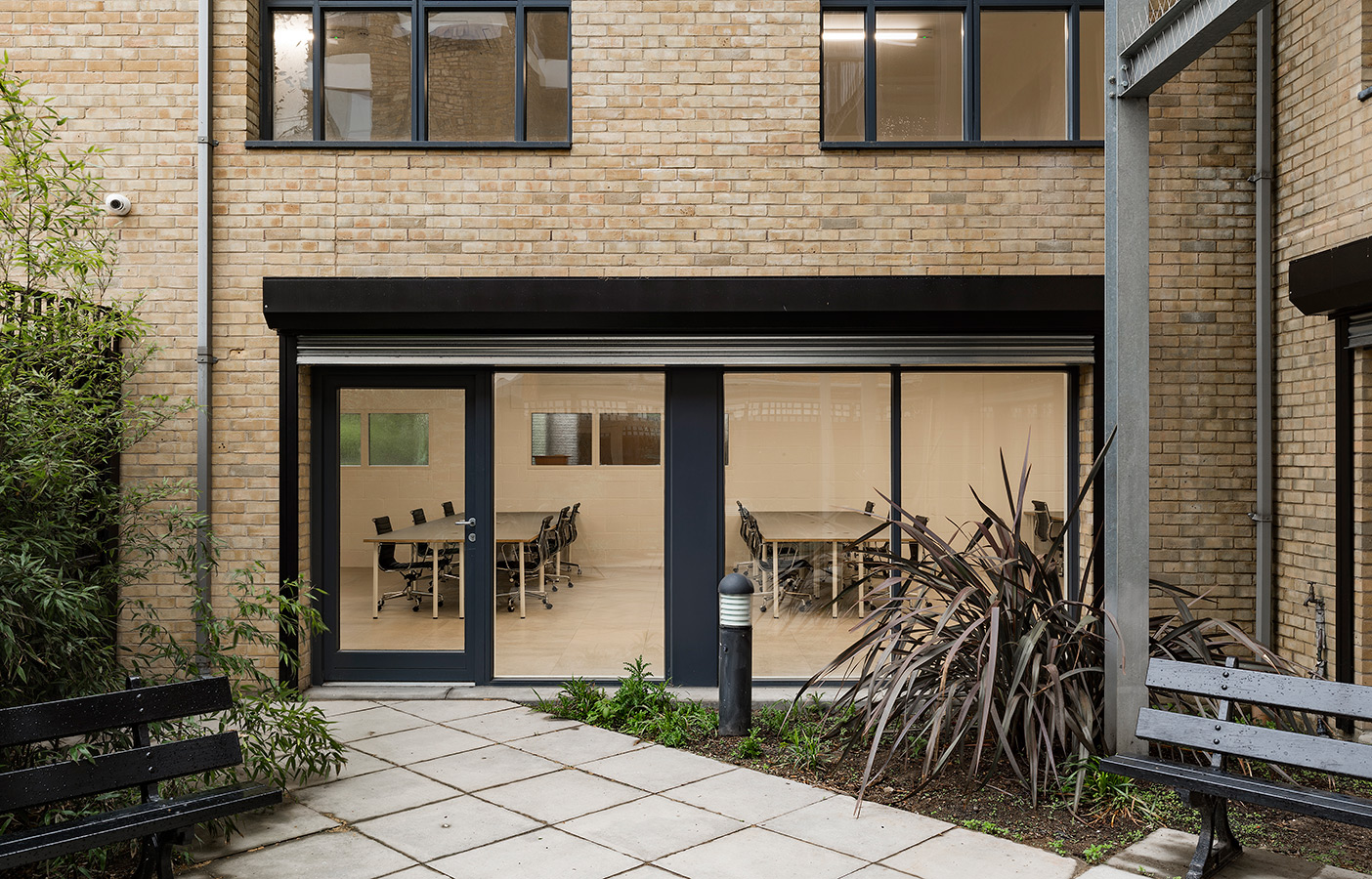 Aldworth James & Bond | Hackney Workspace courtyard