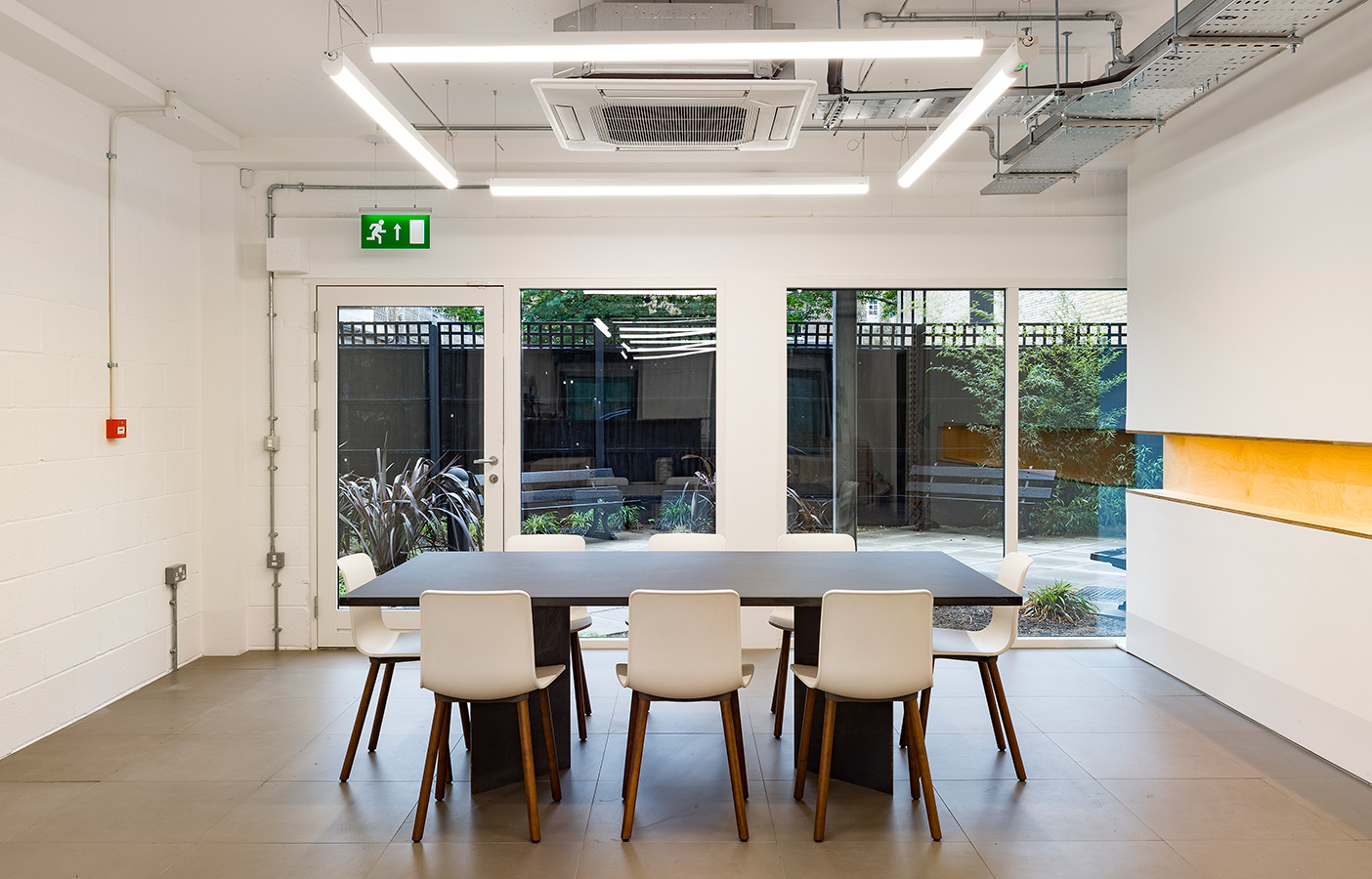 Aldworth James & Bond | Hackney Workspace meeting space designed by AJ&B Studio