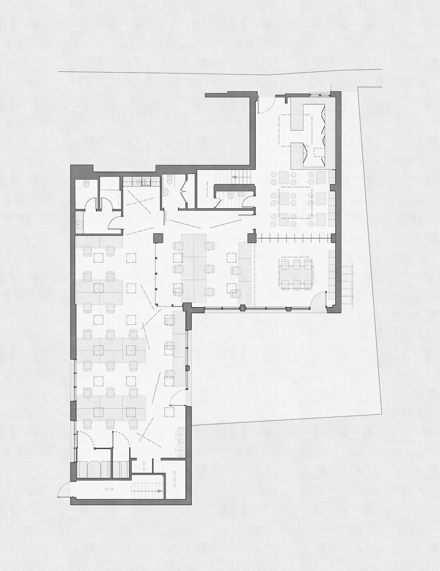 Aldworth James & Bond | Hackney Workspace plan drawing