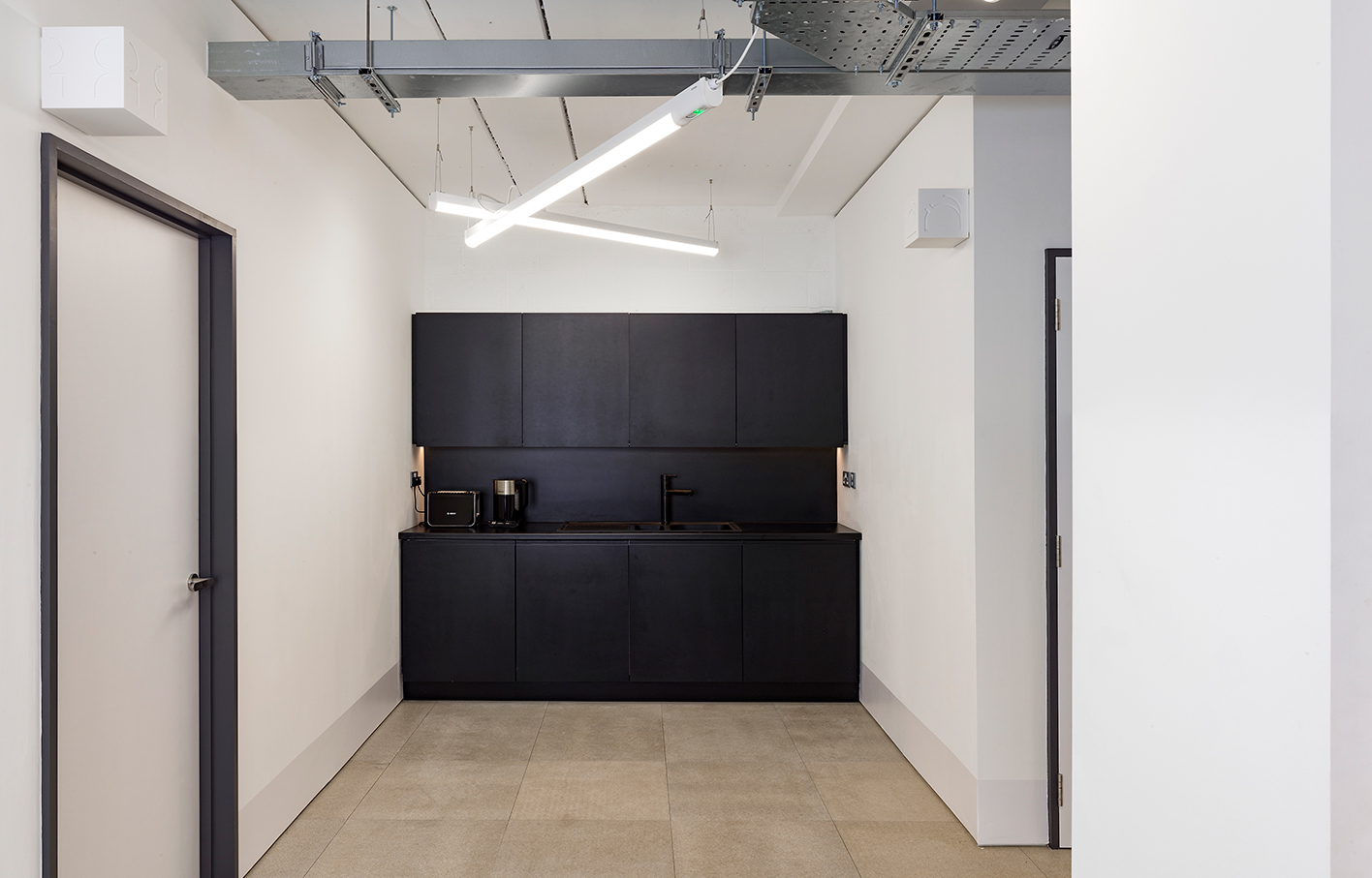 Aldworth James & Bond | Hackney Workspace teapoint designed by AJ&B Studio