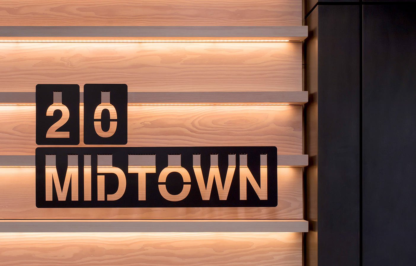 Aldworth James & Bond | 20 Midtown - signage