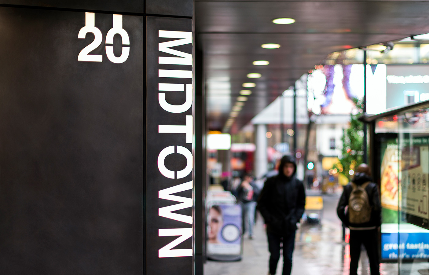 Aldworth James & Bond | 20 Midtown - Exterior signage