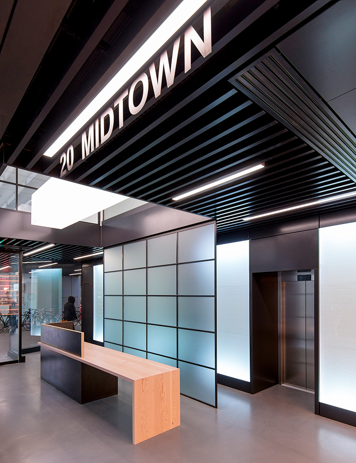 Aldworth James & Bond | 20 Midtown - Reception desk