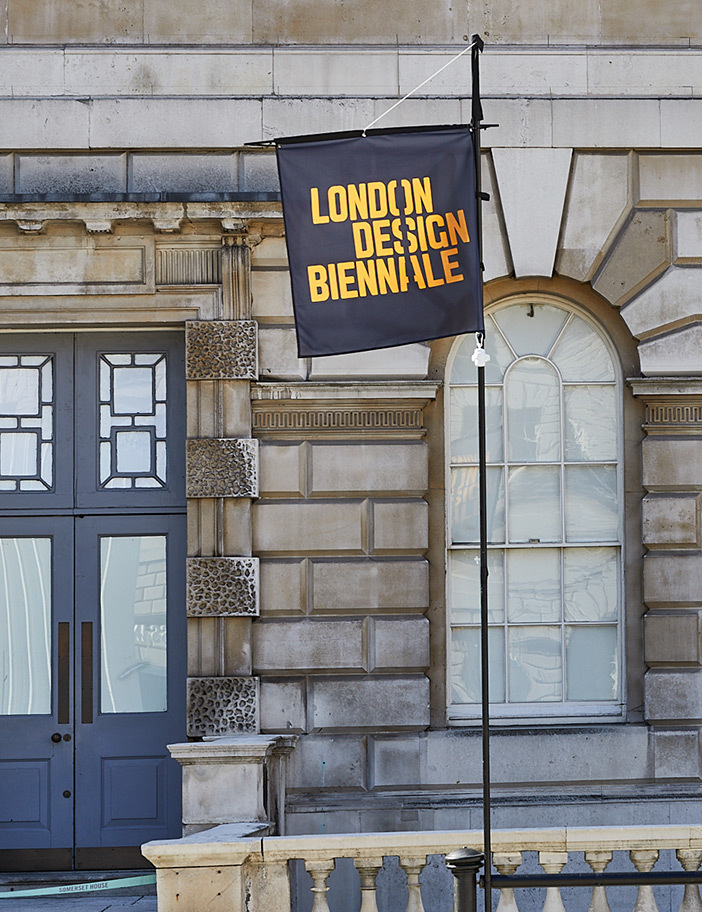 Aldworth James & Bond | London Design Biennale 2018 at Somerset House - Flag