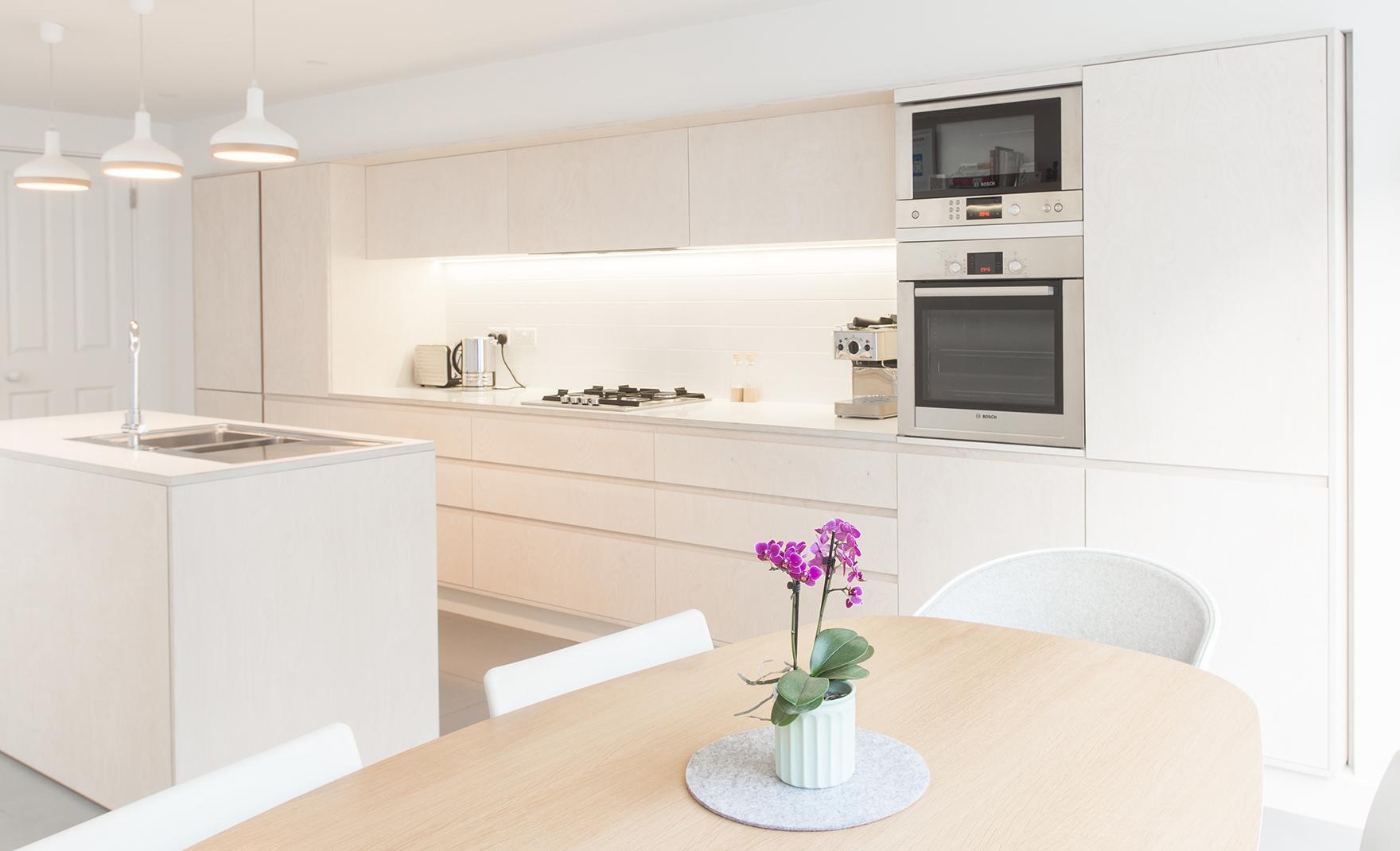 Aldworth James & Bond   Battersea Kitchen