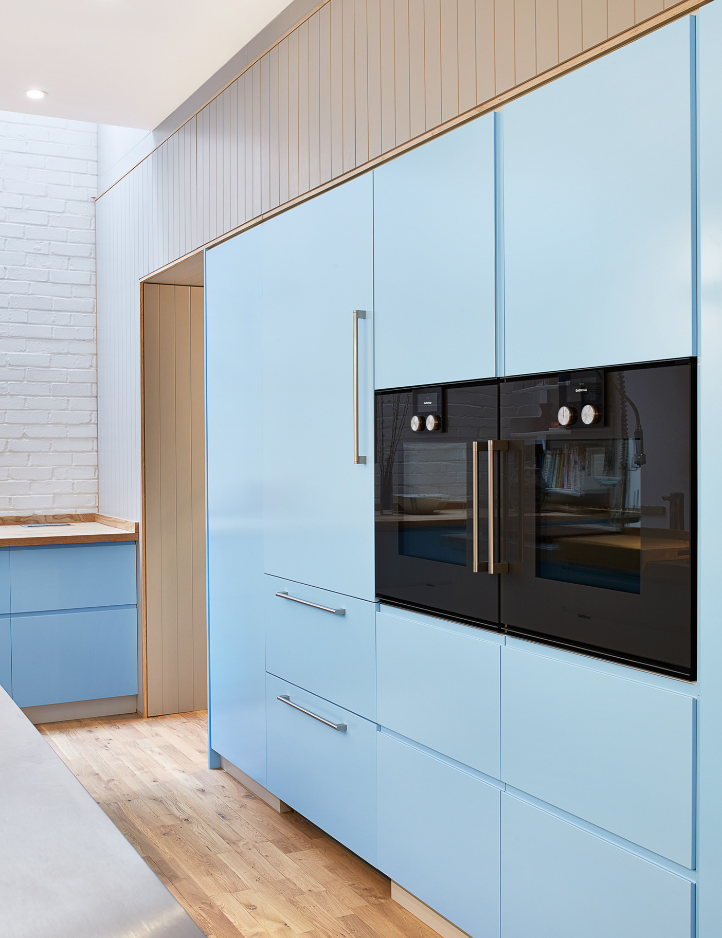 Aldworth James & Bond | Cupboard detail in Bloomsbury Kitchen project