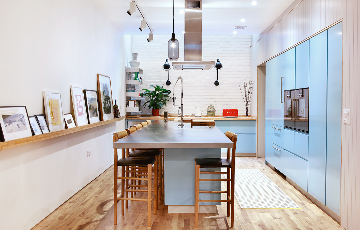 Aldworth James & Bond | A kitchen in Bloomsbury mews house