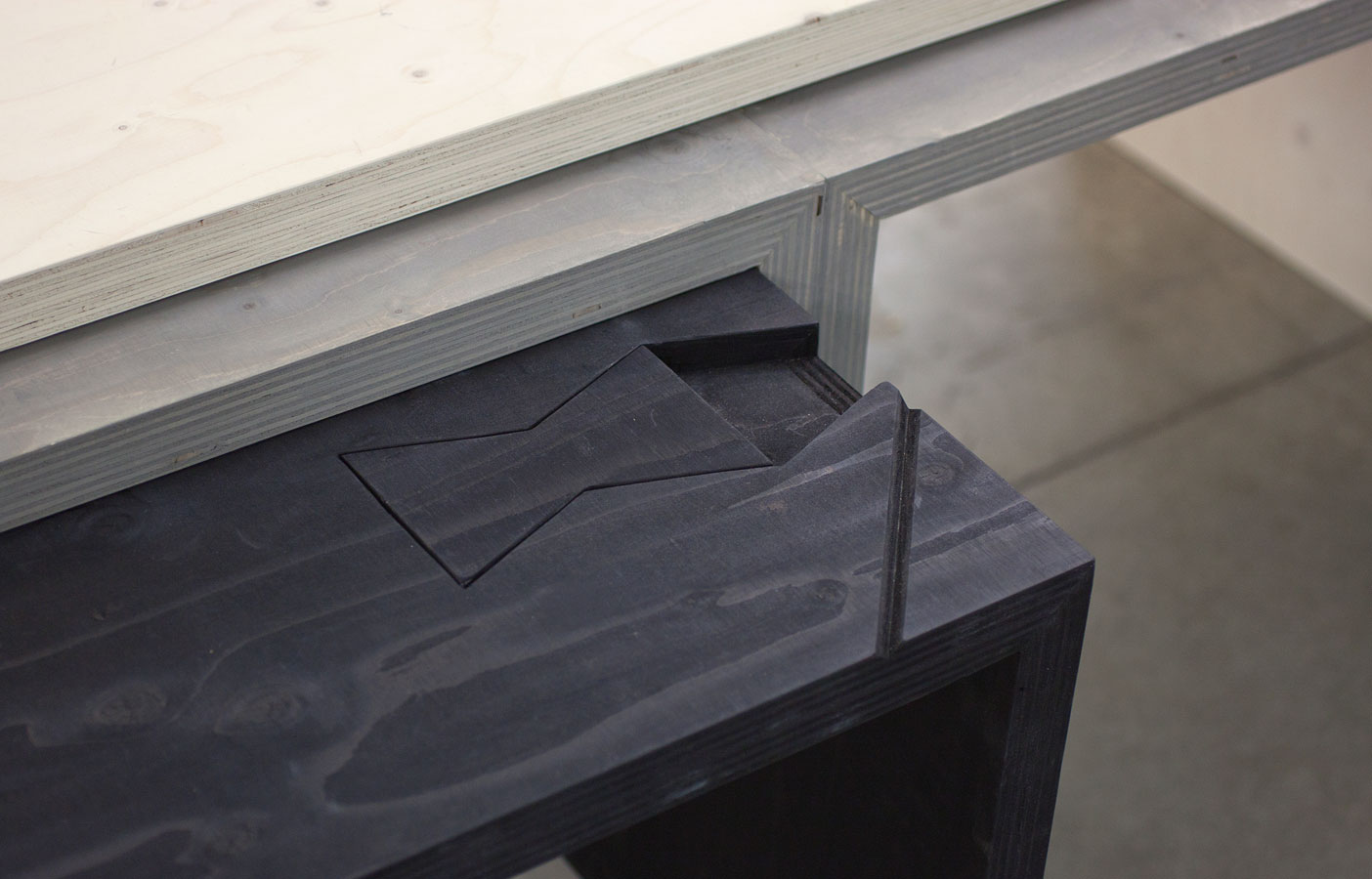 Aldworth James & Bond | Nesting Table for Build at LDF - detail