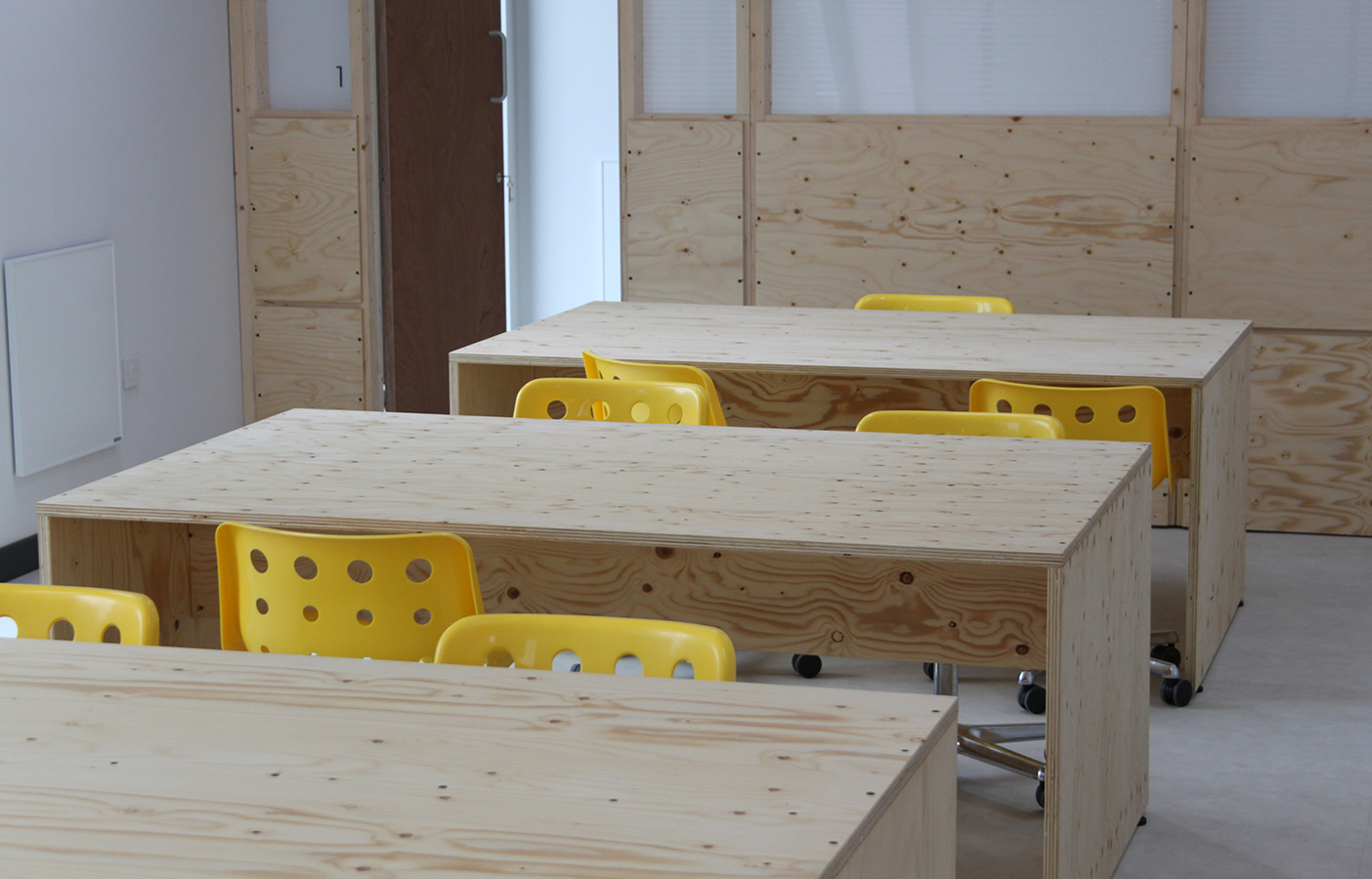 Aldworth James & Bond | Fabricating workstations at the new PLACE/Ladywell co-working space