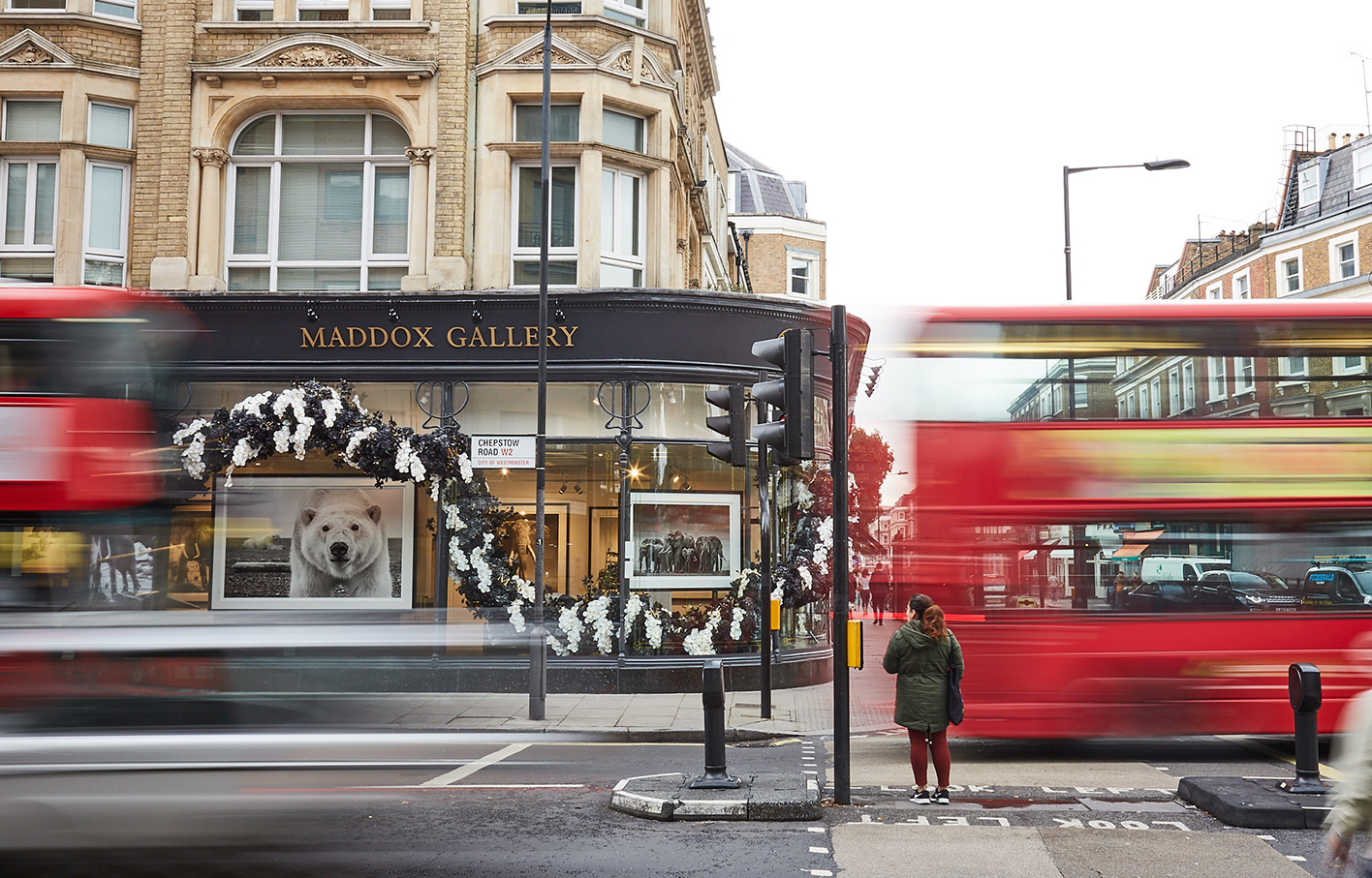 Aldworth James & Bond | Maddox Gallery - Westbourne Grove | Exterior