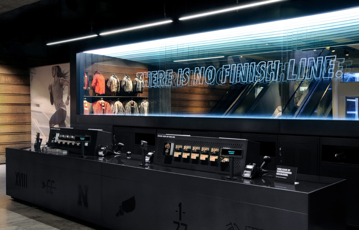 Aldworth James & Bond | Nike Store Berlin - pay point