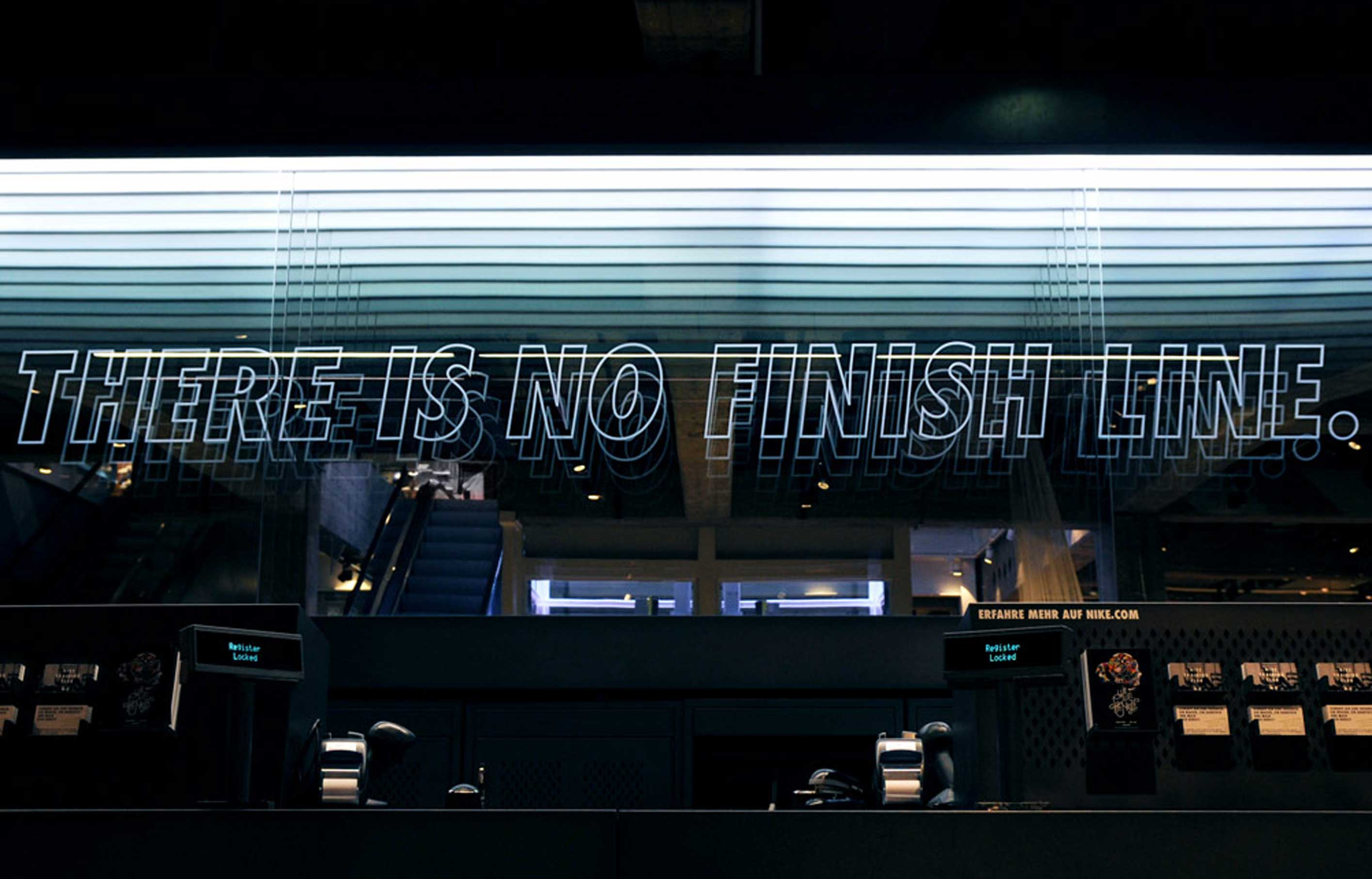 Aldworth James & Bond | Nike Store Berlin - 'There Is No Finish Line'