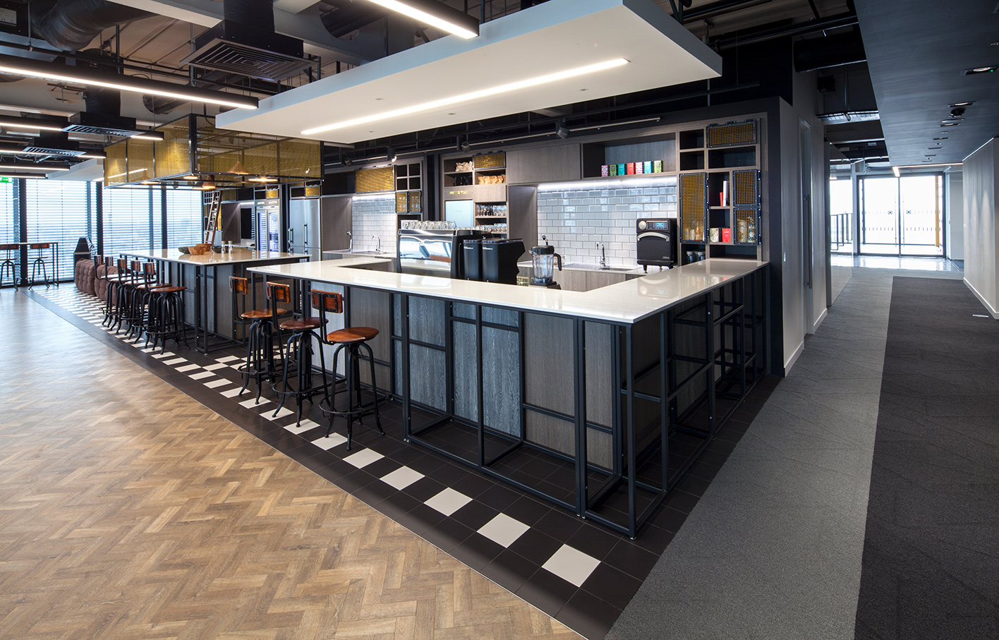 Aldworth James & Bond | The Leadenhall Building | Office pantry
