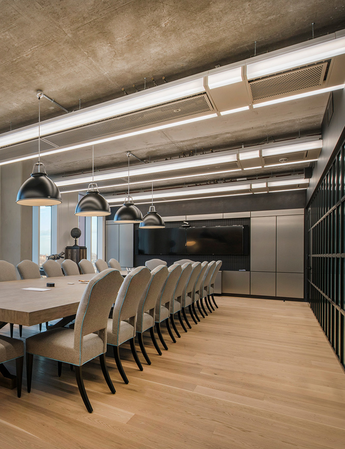 Aldworth James & Bond | XTX Markets — Meeting room cladding