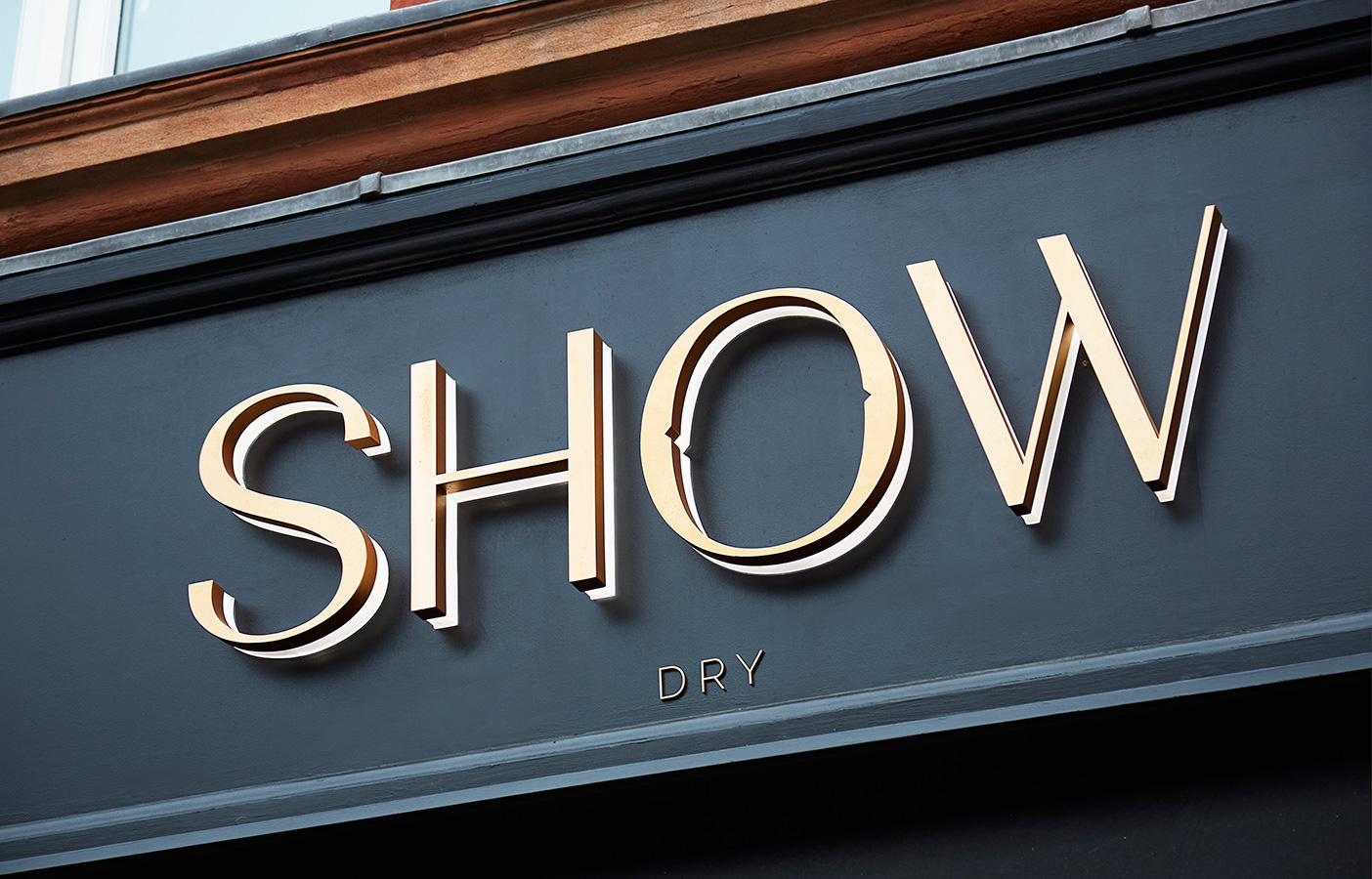 Aldworth James & Bond | SHOW Dry Wimbledon exterior signage
