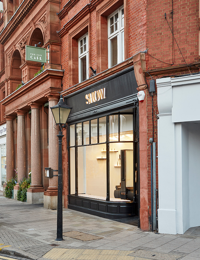 Aldworth James & Bond | SHOW Dry Wimbledon luxury salon exterior