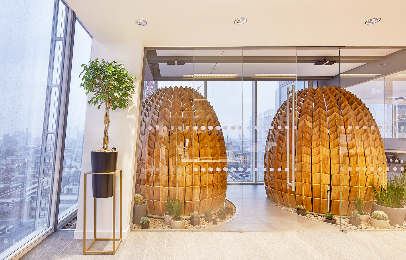 Aldworth James & Bond | Winter Gardens - The Shard | Regeneration Pods