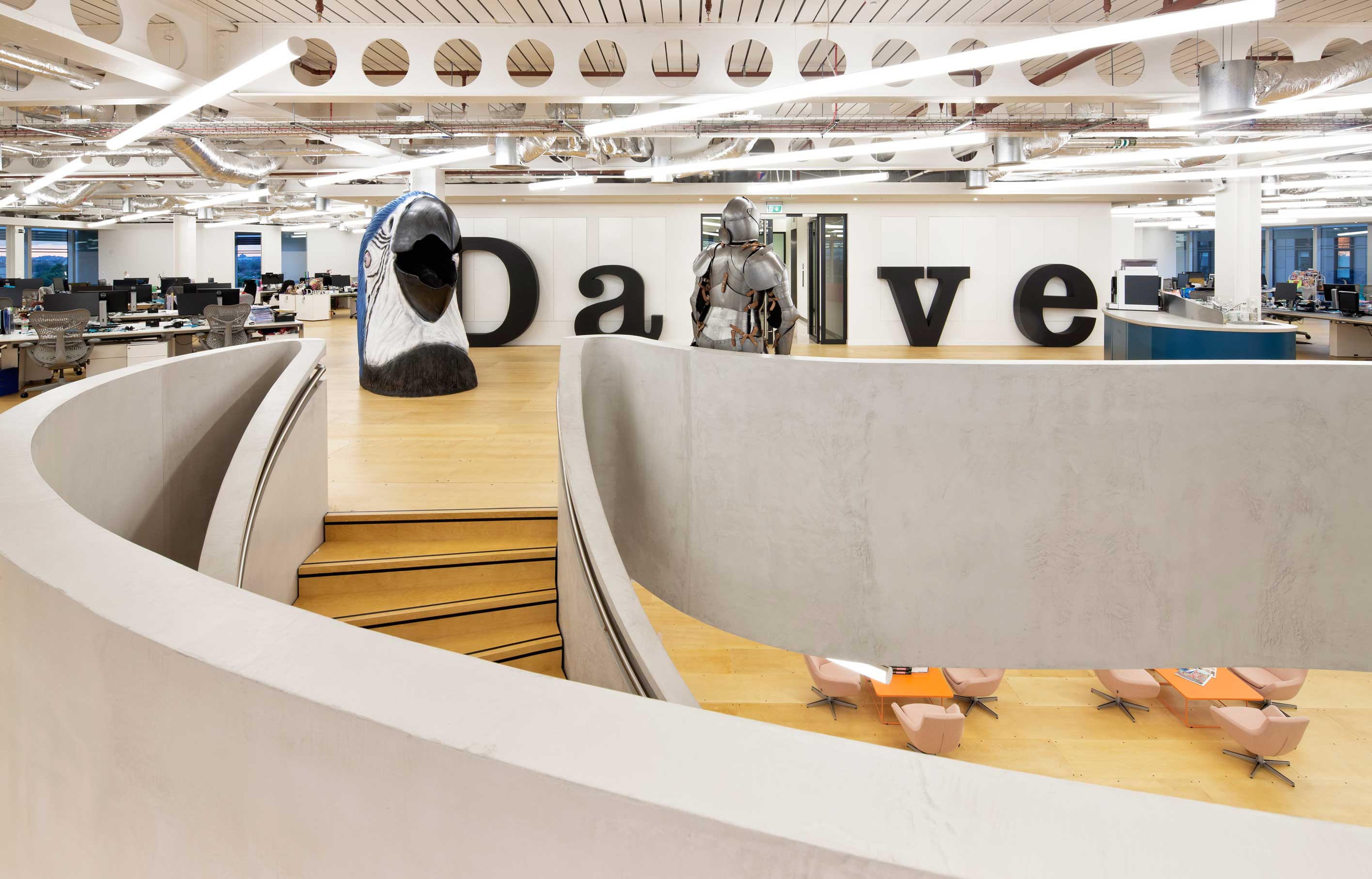 Aldworth James & Bond | UKTV office in Hammersmith, designed by PENSON Group