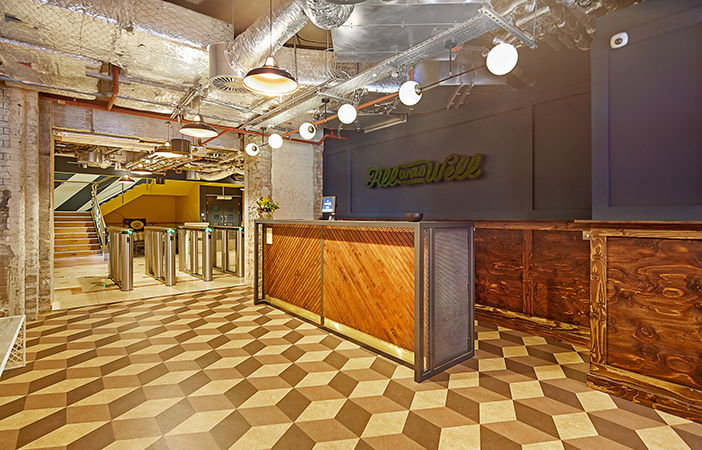 Aldworth James & Bond | WeWork Waterhouse Square - reception desk