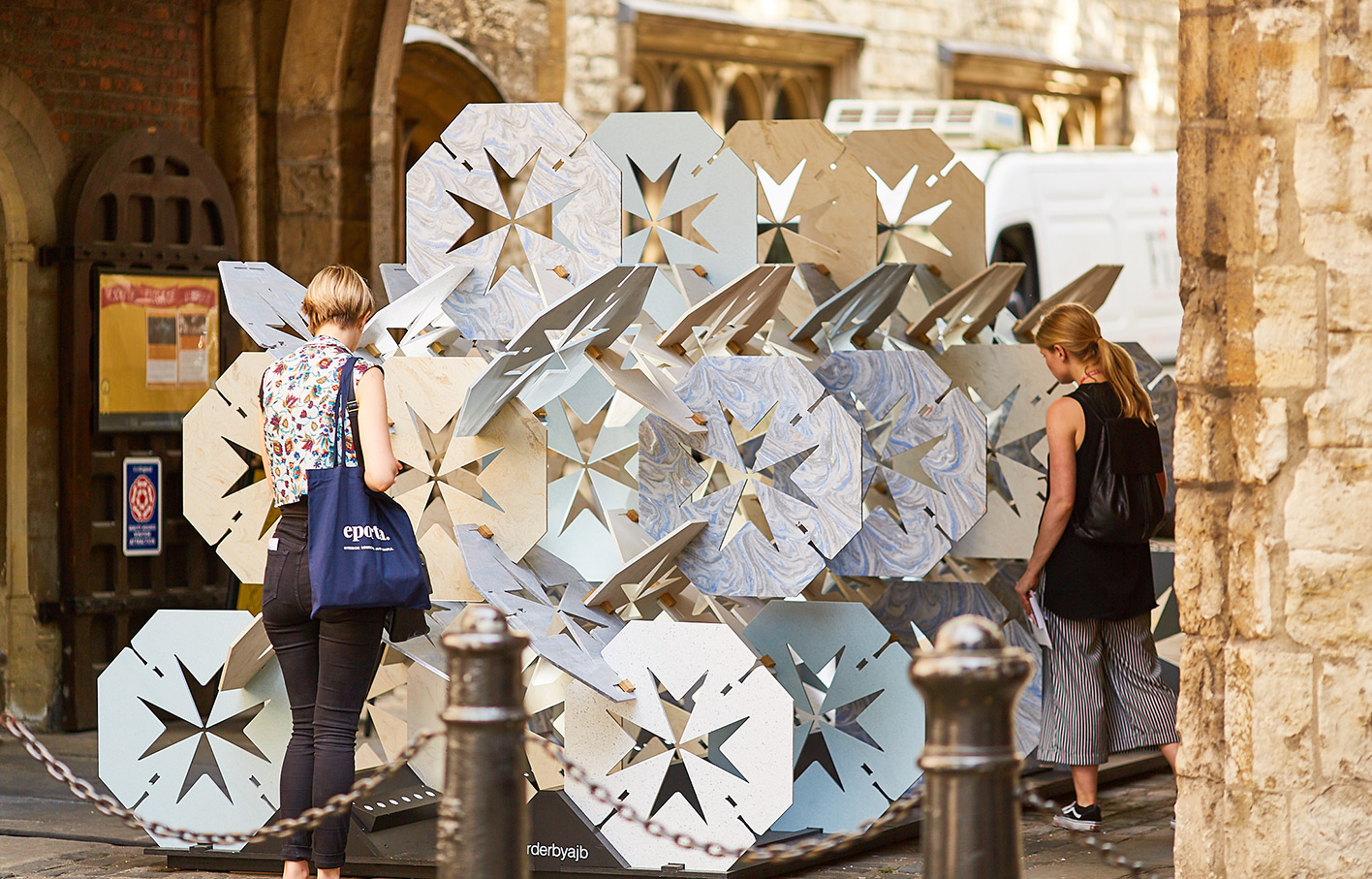 Order by Aldworth James & Bond | Clerkenwell Design Week | Visitors at St John's Gate